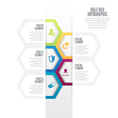 Half Hex Infographic