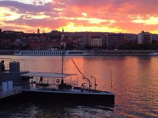Danube river classic in Hungary