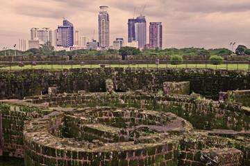 baluarte de san diego cityscap