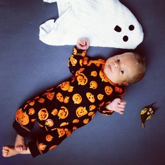 Trick or treat halloween baby