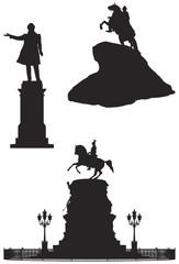 Saint Petersburg monuments, Russian Landmarks