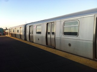 train in New York