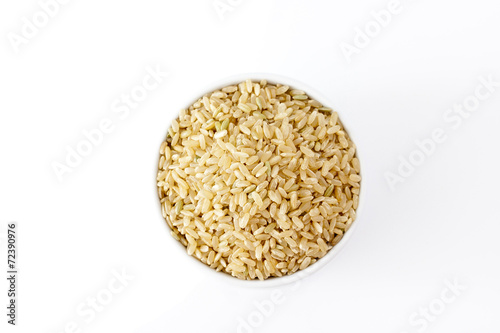 Fotobehang Granen Brown rice