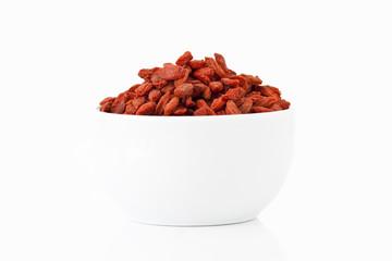 Goji berries in a cup