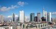 canvas print picture - Frankfurt am Main Skyline