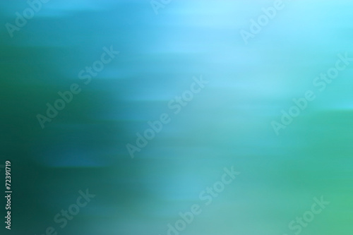 canvas print picture abstract cold blue background with motion blur