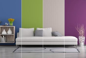 Wohnraum Collage