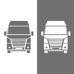 Icono furgón BN