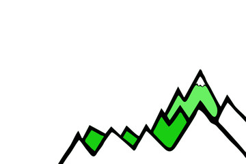 Bergwelt (grüne Almwiesen)