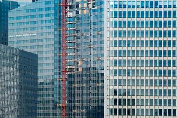 construction tour immeuble