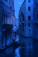 blue night in Venice - Italy
