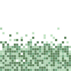 A pixel art abstract vector background