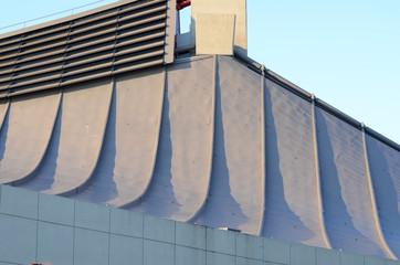 Curve roof of Yoyogi National Gymnasium in Tokyo