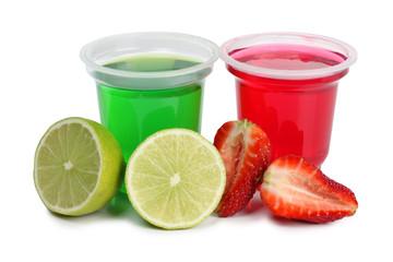 Jam in cups