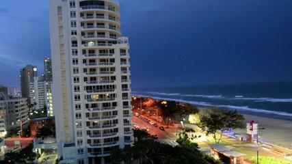 Thunderstorm over Surfers Paradise Gold Coast Australia