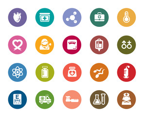 Medical Color Icons