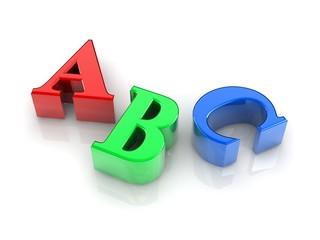 text ABC