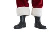 Father Christmas boots and legs - 72403974