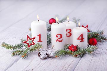 Advent - Weihnachten - Kerzen