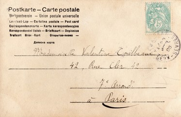 French Antique Postcard 85
