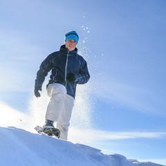 Schneeschuh-Spass im Chiemgau