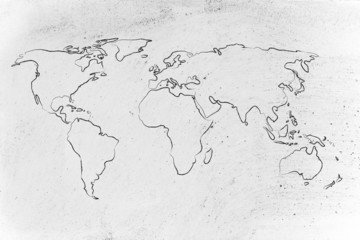 world map design: go global