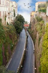 Sorrento street, Italy.