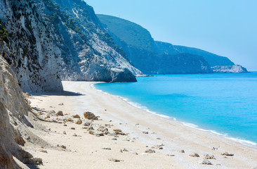 White Egremni beach (Lefkada, Greece)