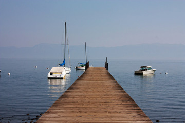Berth on Tahoe lake