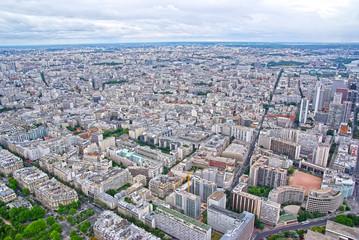 Paris upper view