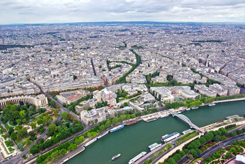 Up view of Paris