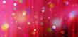 canvas print picture - vorhang konfetti bunt