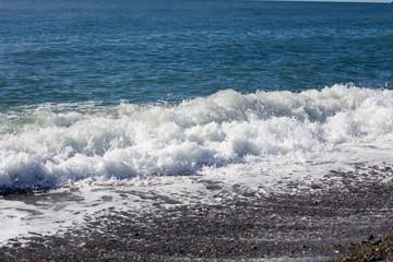 Rocky coast of the Black sea