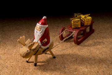 サンタクロースのミニチュア