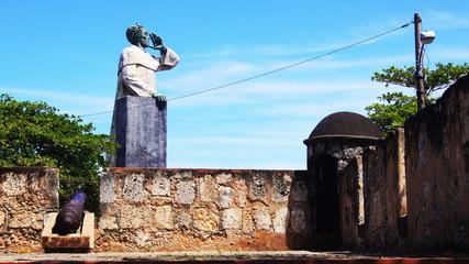 Monumento Antón. Garita. Santo Domingo. República Dominicana