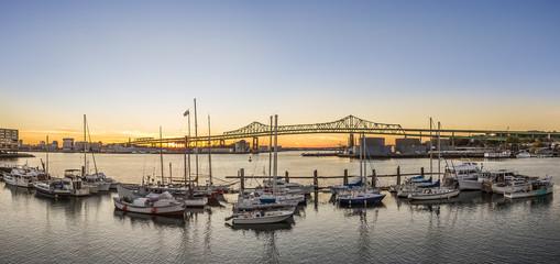 Tobin Bridge in Boston