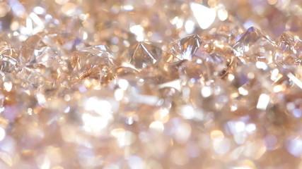 Diamond gold background