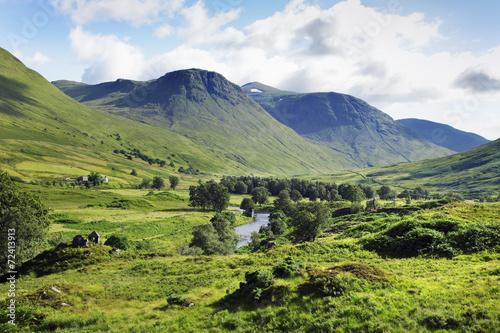 canvas print picture Schottland