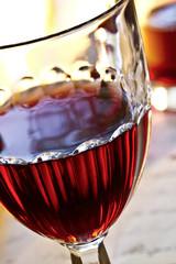 Rotweinglas Antik