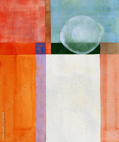 a minimalist abstract painting - 72414314