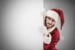 A curious Santa Claus