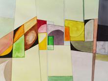 абстрактный акварель