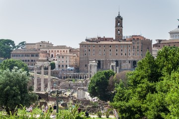 Rome - view over the historic city