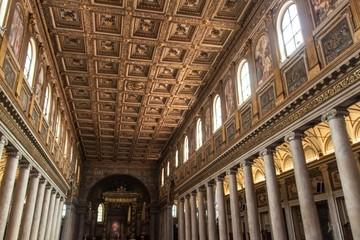 Santa Maria Maggiore basilica in Rome, Italy