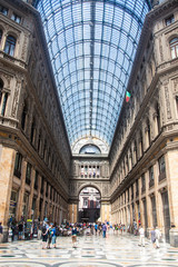 Shopping gallery Galleria Umberto in Naples