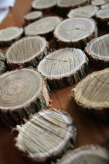 Dischi di legno