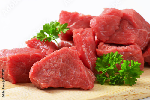 Diced beef - 72417912