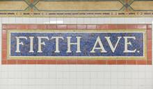 Станция Метро Пятая авеню, Нью-Йорк