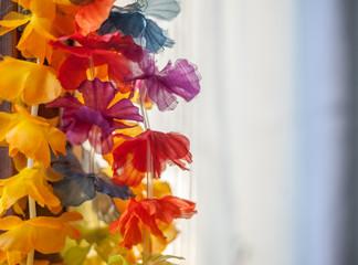 ghirlanda di fiori appesa