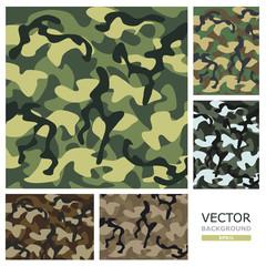 Camouflage. Vector illustration.